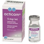 ACTICAM*INIET 10ML 5MG/ML